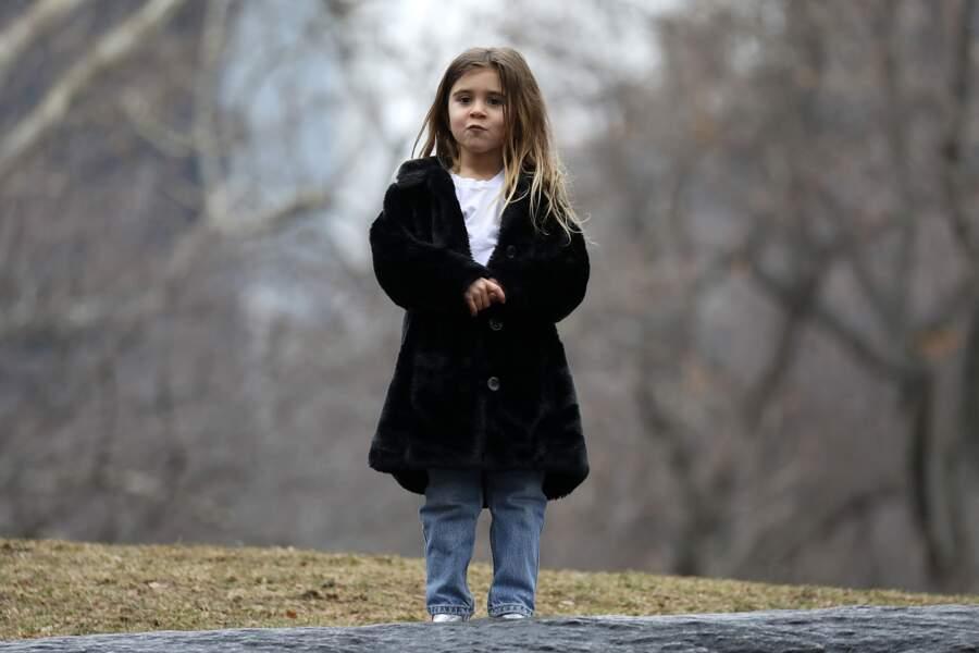Penelope, fille de Kourtney, après