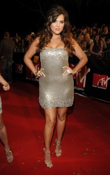 Khloe Kardashian avant