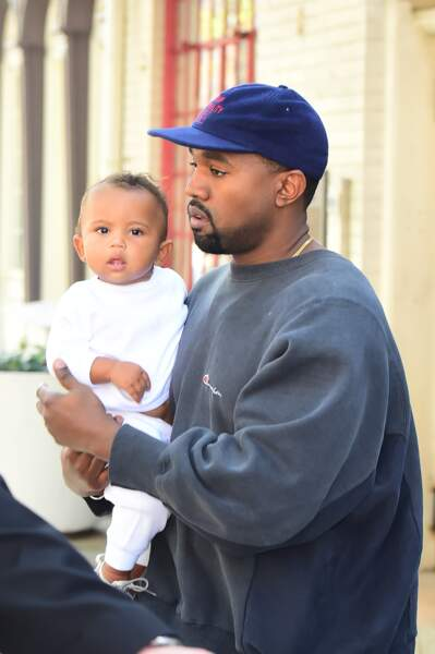 Saint, fils de Kim et Kanye, avant