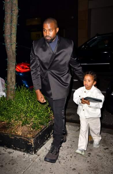 Saint, fils de Kim et Kanye, après