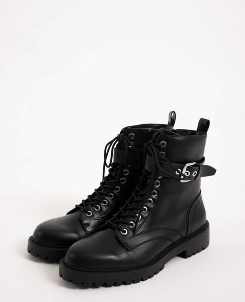 Boots en faux cuir, Pimkie, 35,99 €
