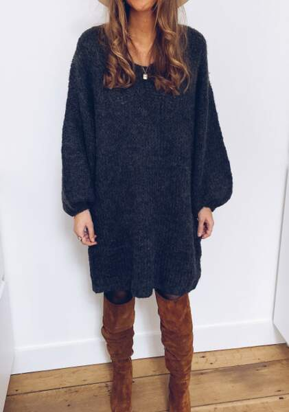 Robe pull Lucia, Easy Clothes, 34€