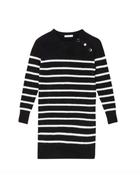 Robe pull rayée, Promod, 39,95€