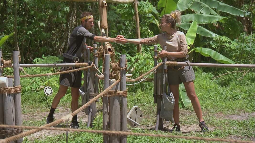 Koh-Lanta, les 4 Terres - épisode 10 : épreuve en duo pour Dorian et Jody