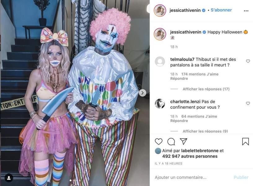 Jessica Thivenin et Thibault Garcia