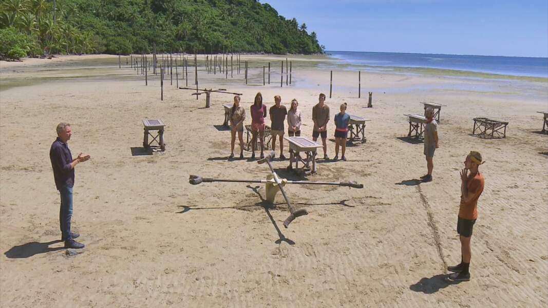 Koh-Lanta, les 4 Terres - épisode 12 : l'épreuve de confort en équipe