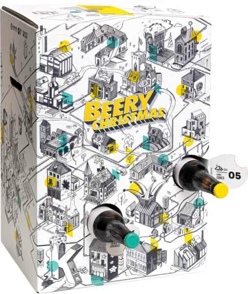 Calendrier de l'avent Saveur Bière, 69,99 €
