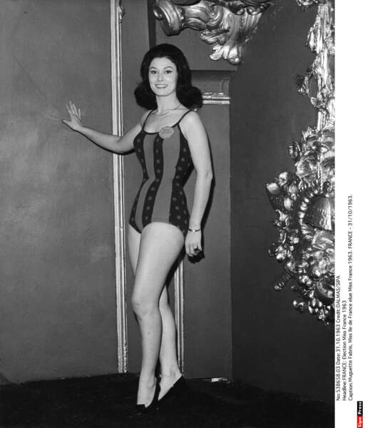 Muguette Fabris, Miss France 1963
