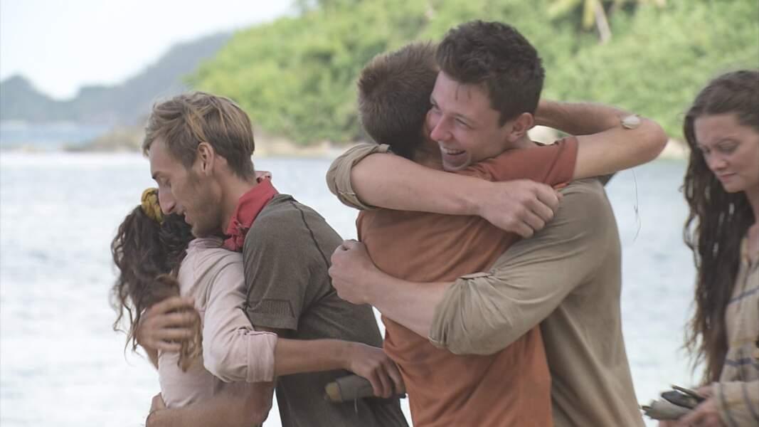 Koh-Lanta, les 4 Terres : Loïc, Brice et Alexandra sur les poteaux