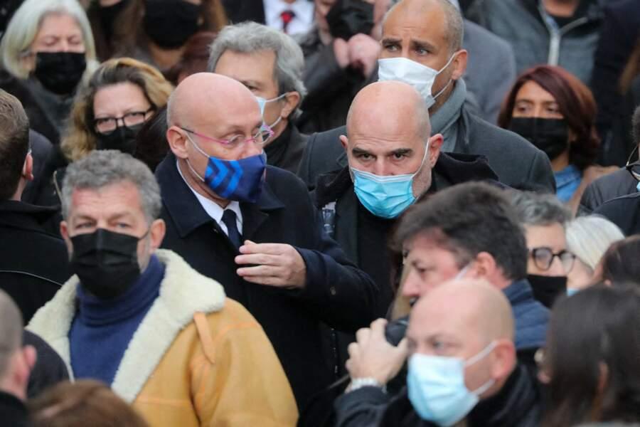 Obsèques de Christophe Dominici : Bernard Laporte, Vincent Moscato et Romain Magellan