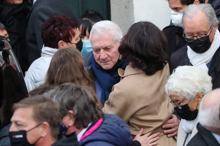 Obsèques de Christophe Dominici : Jean-Marie Dominici, le père de Christophe Dominici