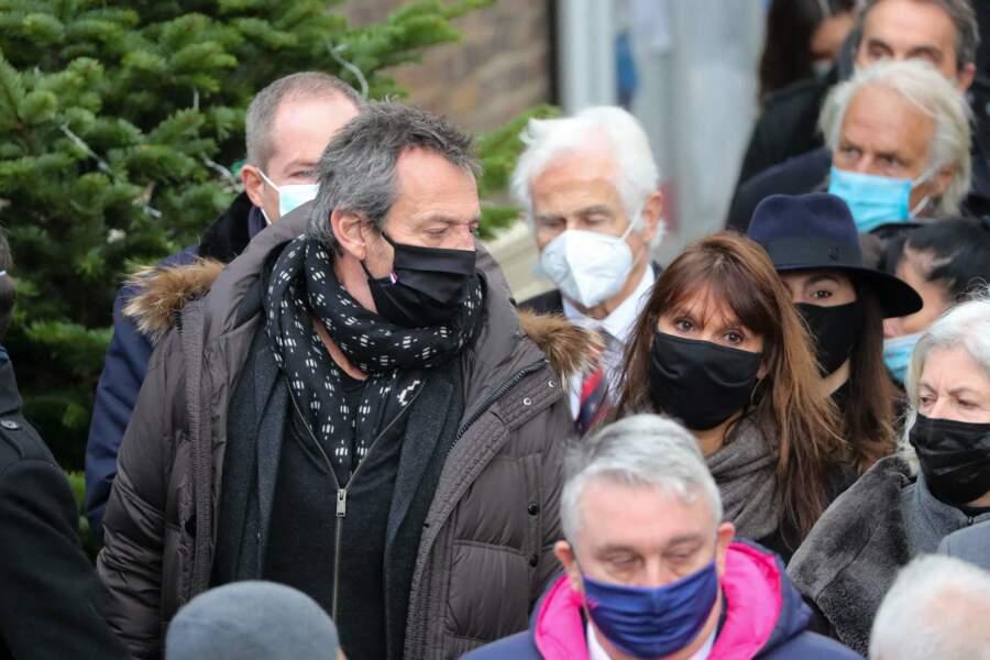 Obsèques de Christophe Dominici : Jean-Luc Reichmann et sa femme Nathalie