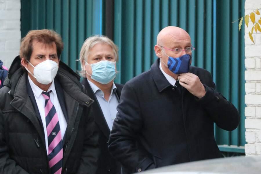 Obsèques de Christophe Dominici : Max Guazzini, Denis Charvet et Bernard Laporte