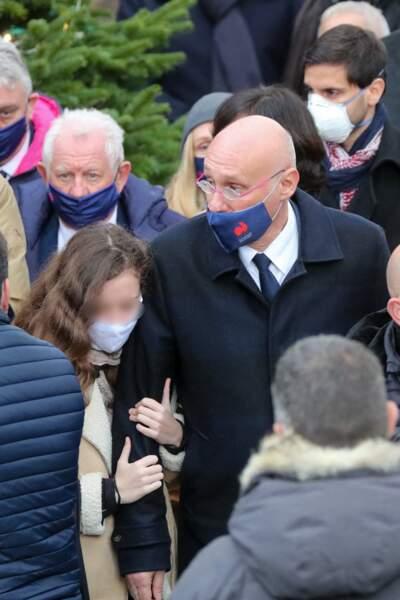 Obsèques de Christophe Dominici : Bernard Laporte