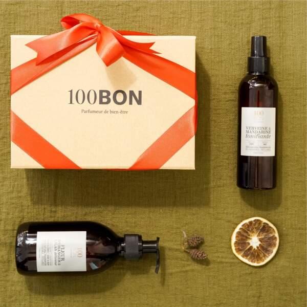 Coffret pour le bain fleur d'oranger et lilas délicieux, 100BON, 35€