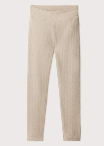 Leggings côtelé avec cachemire, Calzedonia, 29,95€