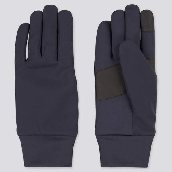 Gants techniques chauffantes, Uniqlo, 12,90€
