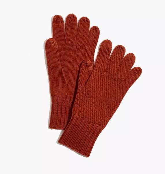 Gants en laine, Madewell, 25,89€
