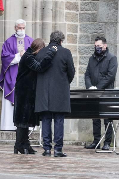 Obsèques de Robert Hossein
