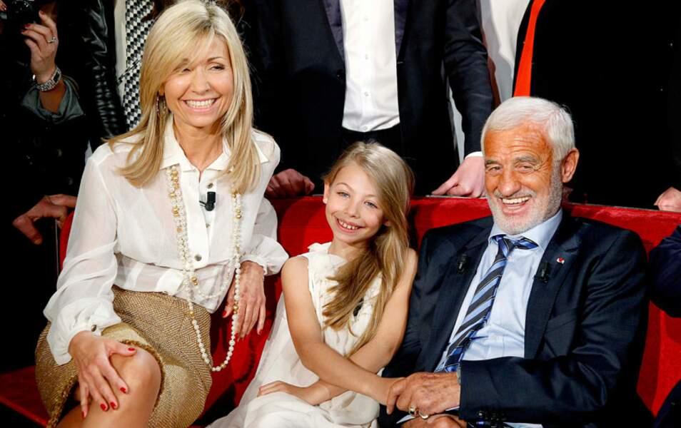 Natty, Stella et Jean-Paul Belmondo