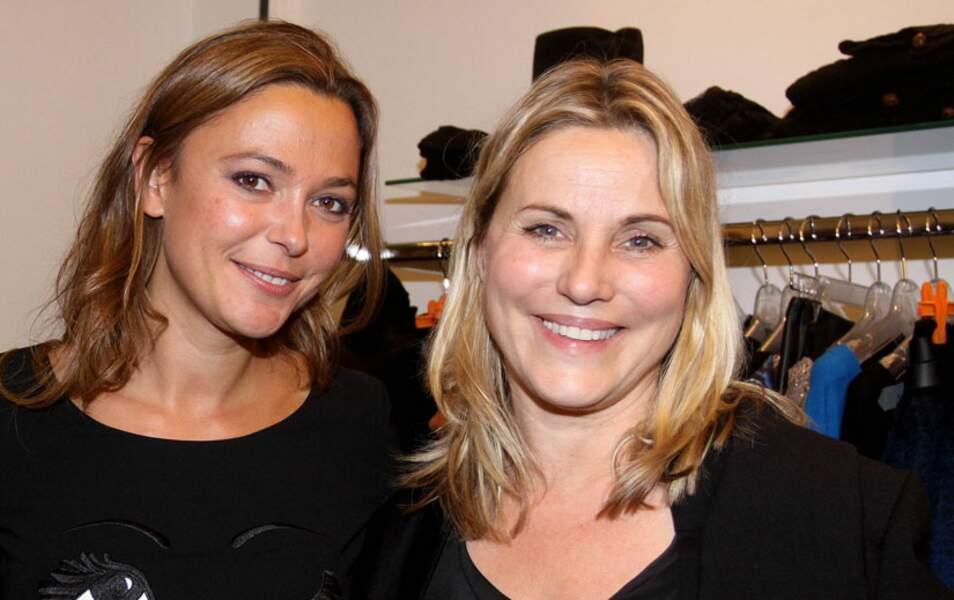 Sandrine Quétier et Sophie Favier
