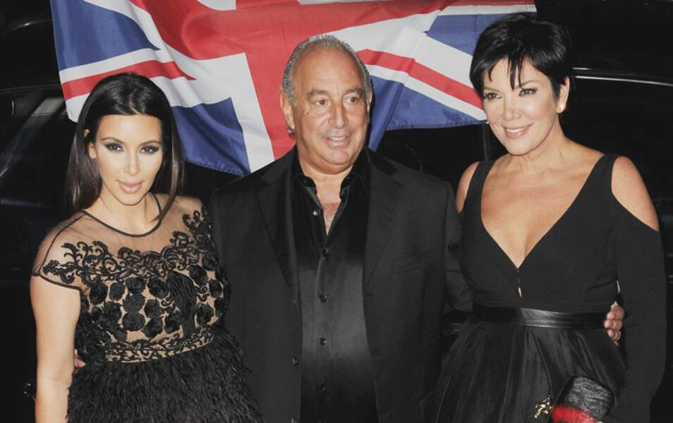 Kim Kardashian, Philip Green et kris Jenner