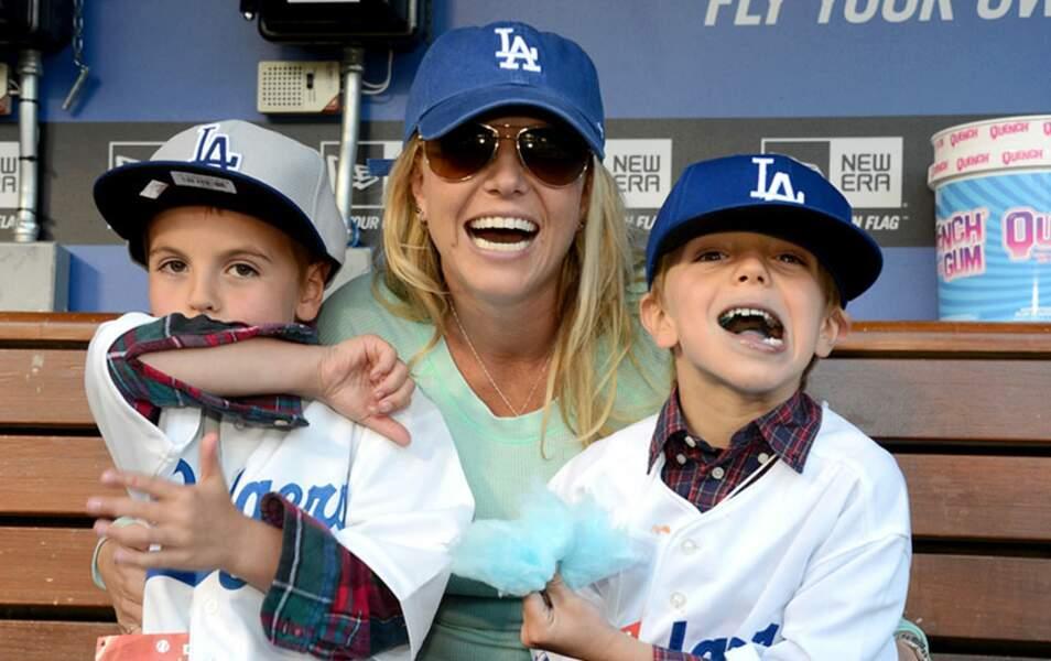 Britney Spears et ses fils