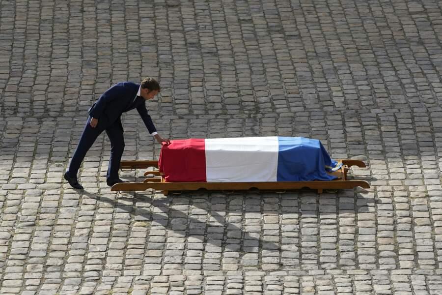 Le président Emmanuel Macron a donné un discours
