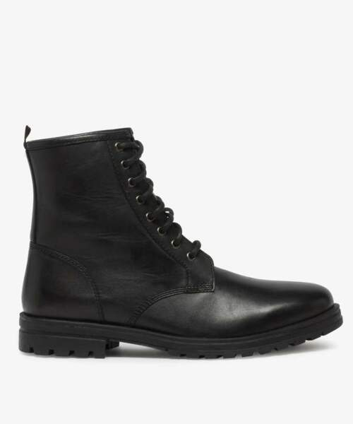 Boots homme style rangers pour hommes, Gémo, 69,99€