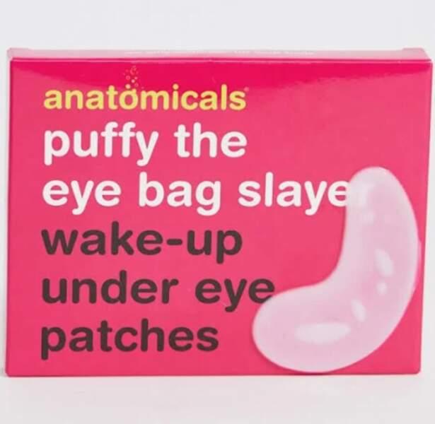 Patchs de réveil pour les yeux, Asos, 8,99€