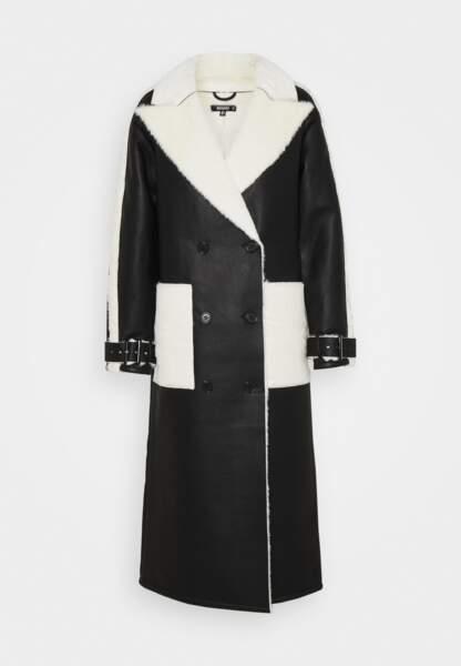 Manteau en fausse fourrure, Missguided, 76,99 €