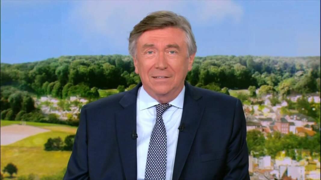 Depuis 1998, Jacques Legros est le joker du 13 heures de TF1 en semaine