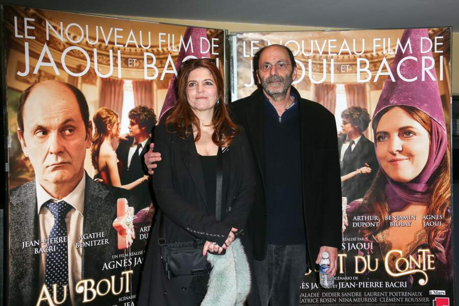 Agnes Jaoui et Jean-Pierre Bacri en 2013