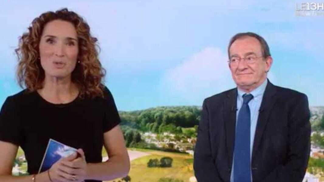 Marie-Sophie Lacarrau présente le 13 heures de TF1 depuis le 4 janvier 2021, en remplacement de Jean-Pierre Pernaut