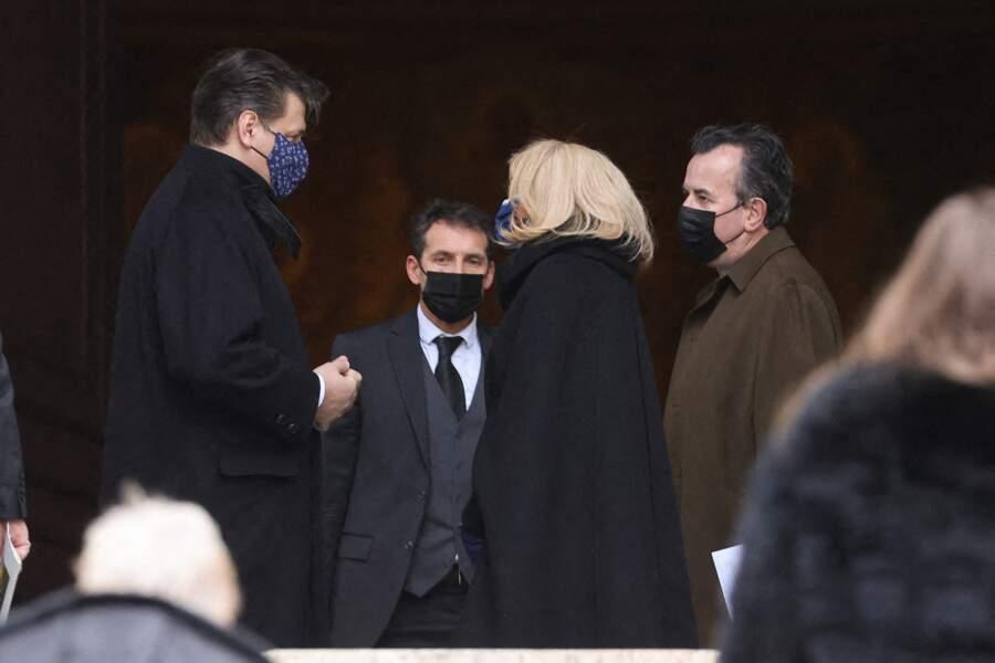 Brigitte Macron et Rodrigo Basilicati, neveu de Pierre Cardin