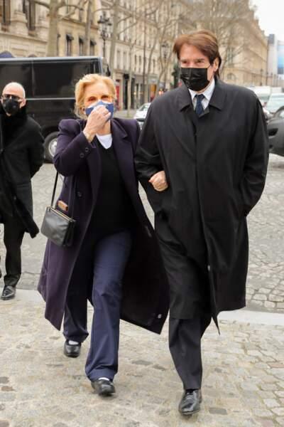 Sylvie Vartan et son mari Tony Scotti