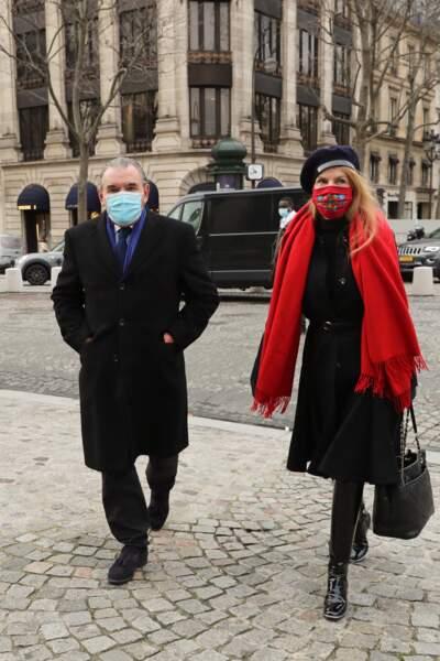 L'actrice Cyrielle Clair et son mari Michel Corbière