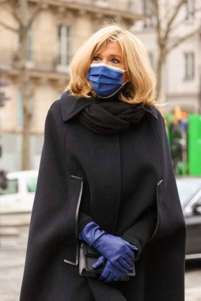 La première dame Brigitte Macron