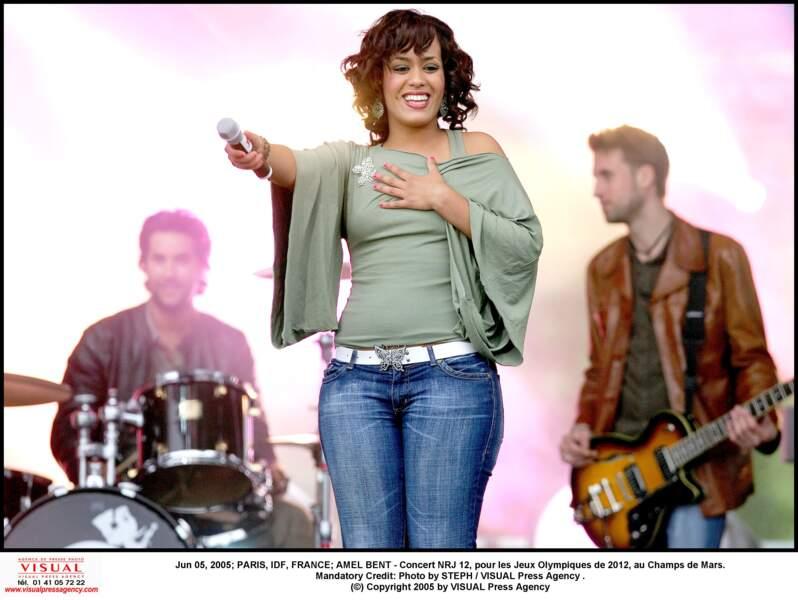 Amel Bent en 2005
