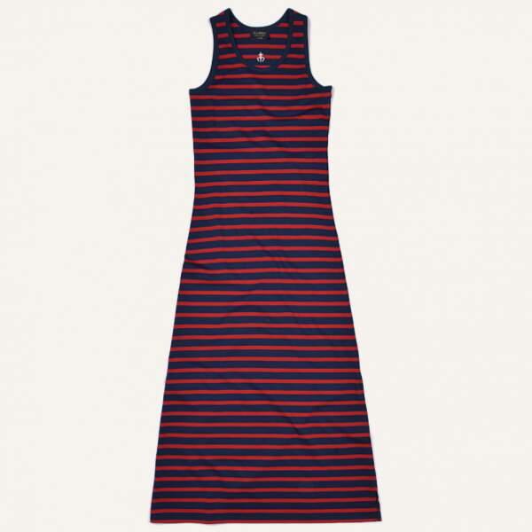 Robe motif marinière, Le Minor, 135 €
