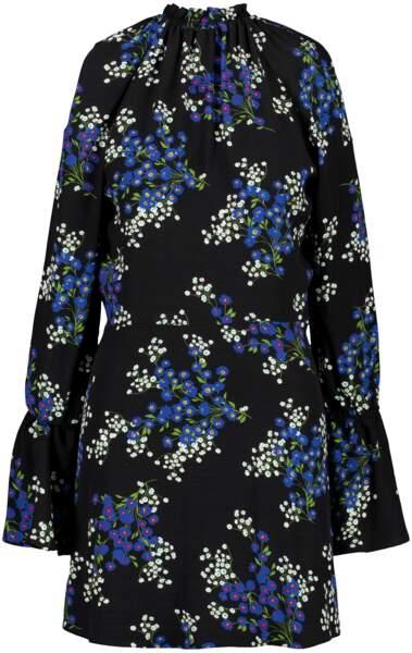 Robe fleurie col montant, La Seine & Moi, 135 €