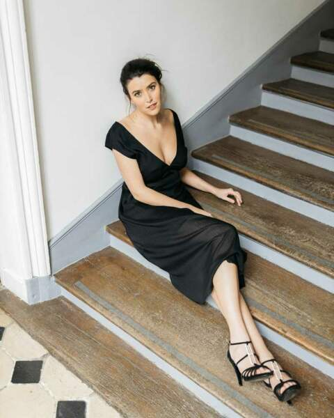 Robe noire longue, Marianne by Marie Jordane, 160 €