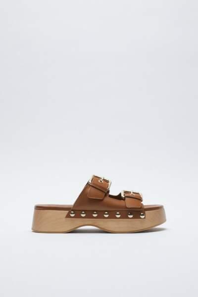 Sabot nu-pieds, Zara, 69,95 €