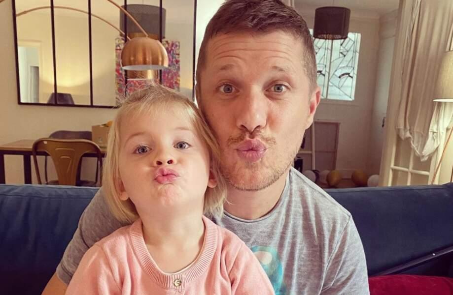 Jean-Edouard Lipa (saison 1) et sa fille