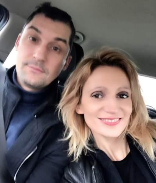 Sandra Colombe, saison 2 et son compagnon