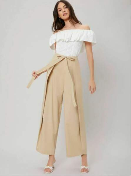 Pantalon ample, MOTF, 26,99€