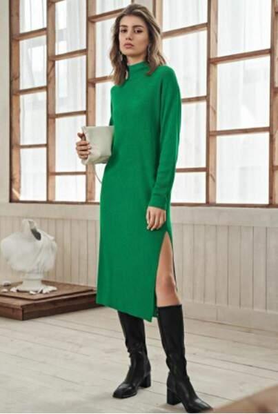 Robe pull fendue, MOTF, 44,99€