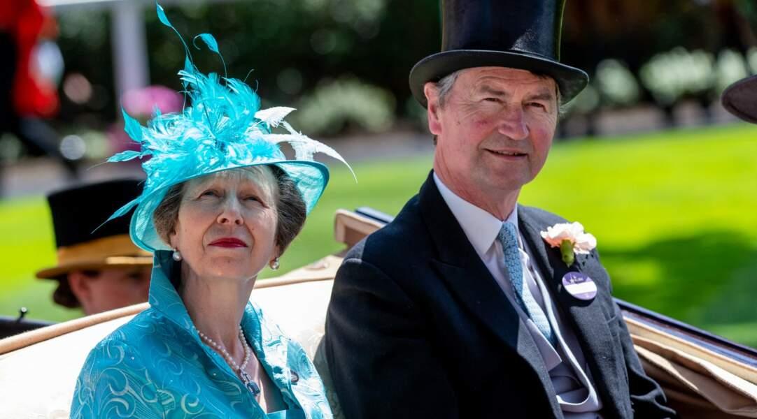 Princesse Anne et son époux Timothy Laurence