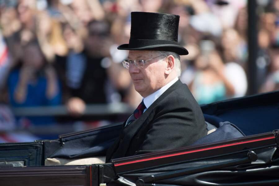 Prince Richard, duc de Gloucester, cousin de la reine Elizabeth II, sera accompagné de son épouse Brigitte Eva
