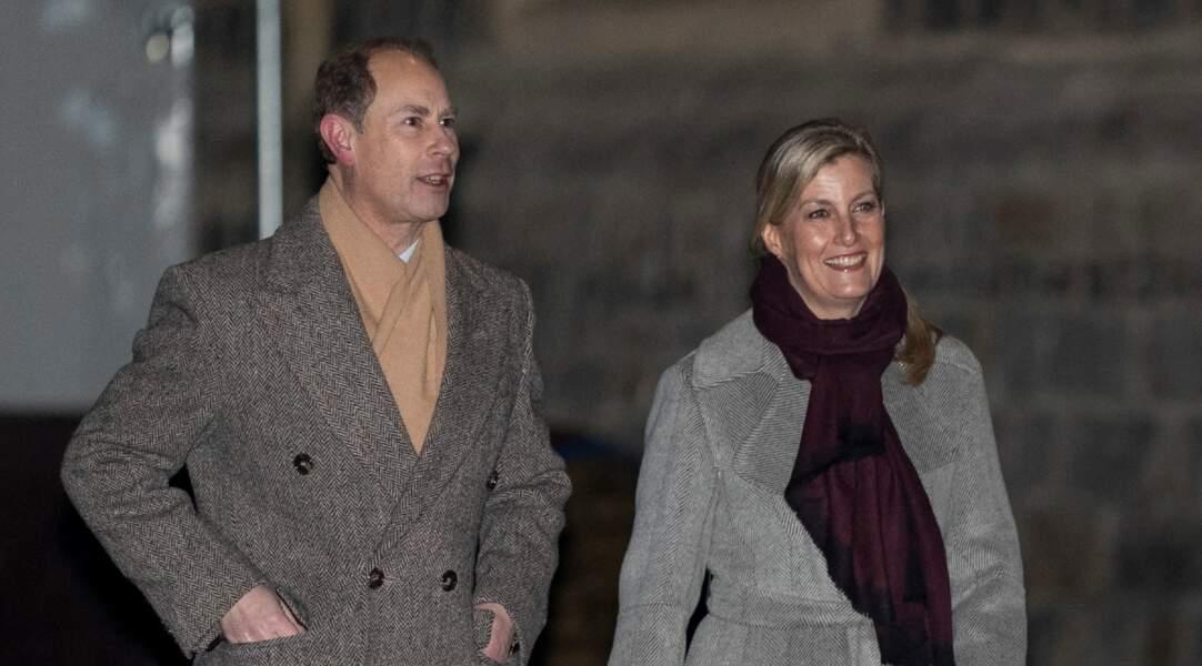 Prince Edward et son épouse Sophie de Wessex